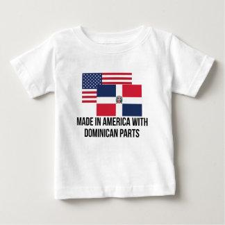 Piezas dominicanas camiseta de bebé