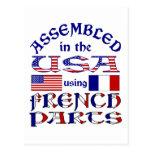 Piezas francesas postales