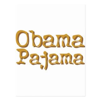 ¡Pijama de Obama! Postal