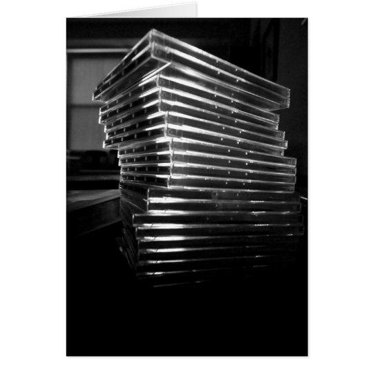 Pila CD Tarjeta De Felicitación