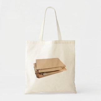 Pila de cartulina acanalada bolsas