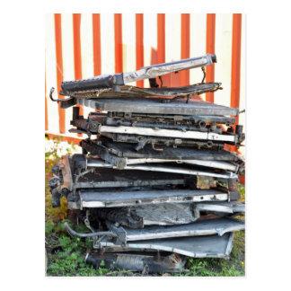 Pila de radiadores postal