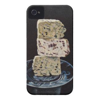 Pila del queso de Stilton Carcasa Para iPhone 4 De Case-Mate