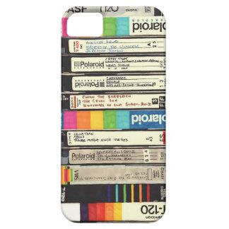 Pila retra de la cinta del vintage 80s VHS de la iPhone 5 Case-Mate Cobertura