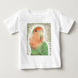 Pilaf del Lovebird Camiseta De Bebé