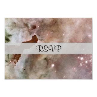Pilar del polvo de la nebulosa de Carina Invitación 8,9 X 12,7 Cm