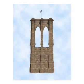 Pilar del puente de Brooklyn: modelo 3D: Postal