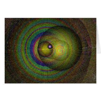 pilares cósmicos tarjeta de felicitación