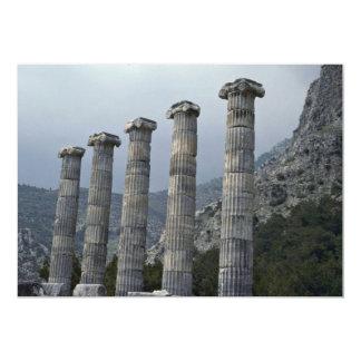 Pilares de dioses invitacion personal