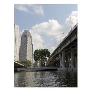 Pilares de la ayuda del puente de Benjamin Sheares Postal