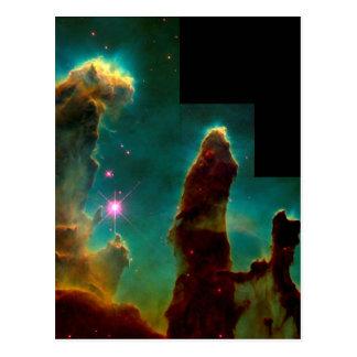 Pilares de la creación - imagen del telescopio postal