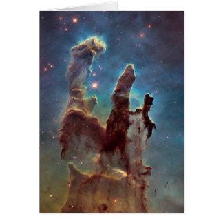 Pilares de la creación tarjeta de felicitación