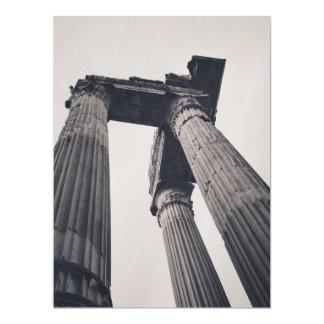 Pilares de Roma Invitación 16,5 X 22,2 Cm