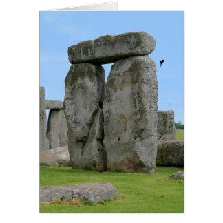 Pilares de Stonehenge Tarjeta De Felicitación