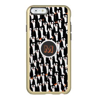 Pilas lindas y caprichosas de pingüinos funda para iPhone 6 plus incipio feather shine