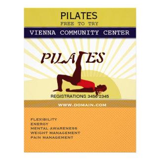 Pilates Tarjetas Publicitarias