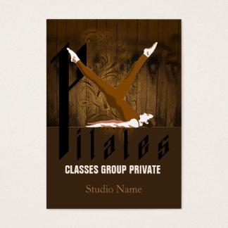 Pilates II - Negocio, tarjeta del horario