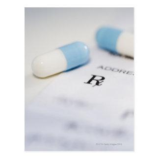 Píldoras en la prescripción escrita postal