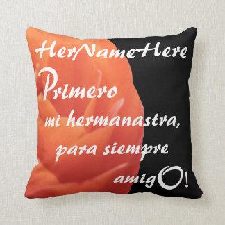 PillowRosesRRed-Primer mi hermanastra - hermanastr Cojines