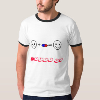 pills=cheer feliz para arriba camiseta