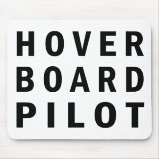 Piloto de Hoverboard Alfombrilla De Ratón