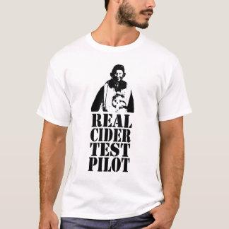 Piloto de prueba real de la sidra - no. 1 camiseta