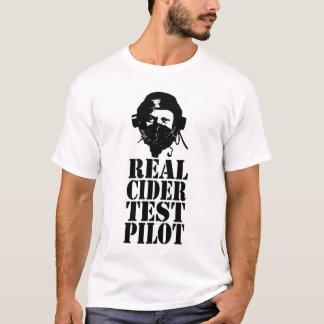 Piloto de prueba real de la sidra - no. 3 camiseta