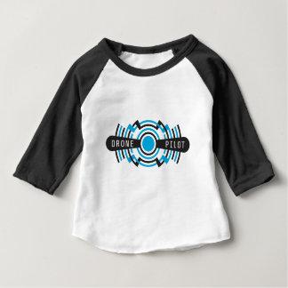 piloto del abejón camiseta de bebé