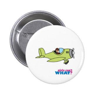 Piloto del aeroplano - medio pins