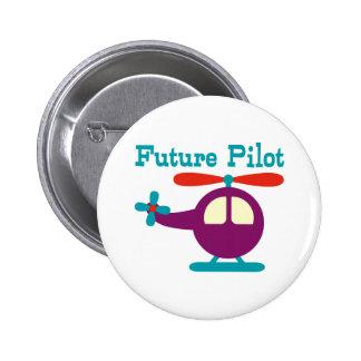 Piloto futuro chapa redonda de 5 cm