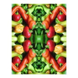 Pimienta como arte - extracto picante tarjetas publicitarias