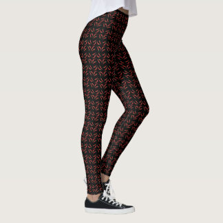 pimienta de chile leggings