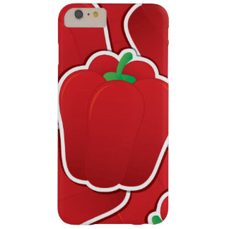 Pimienta roja enrrollada funda barely there iPhone 6 plus