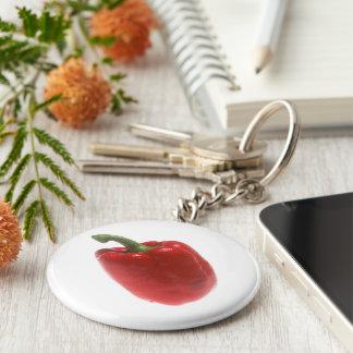 Pimienta roja llavero personalizado