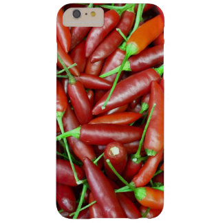 ¡Pimientas de chile candentes! Funda Barely There iPhone 6 Plus