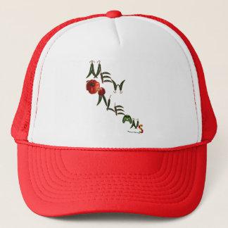 Pimientas de chile de New Orleans Gorra De Camionero