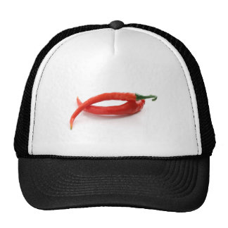 pimientas de chile del hor gorras de camionero