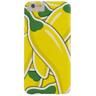 Pimientas de chiles amarillas enrrolladas funda barely there iPhone 6 plus