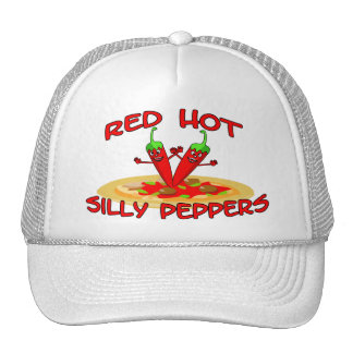 Pimientas tontas candentes gorras