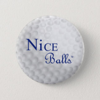 Pin agradable de las bolas chapa redonda de 5 cm