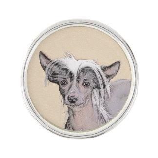 Pin Arte original del perro de la pintura sin pelo con