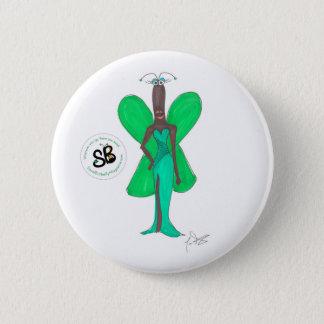 Pin atractivo del botón de la moda del pseudo
