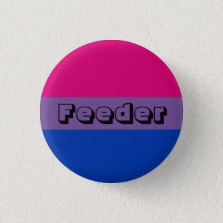 Pin bisexual del alimentador chapa redonda de 2,5 cm