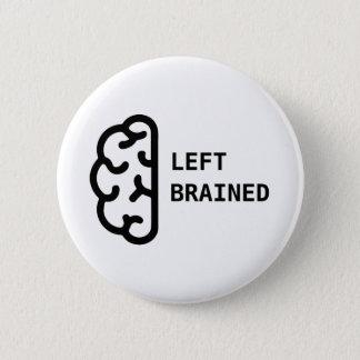 Pin cerebrado izquierdo impresionante del botón