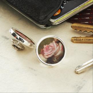 Pin color de rosa polvoriento de la solapa