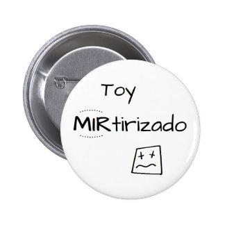 Pin con dibujo de Toy MIRtirizado Chapa Redonda De 5 Cm