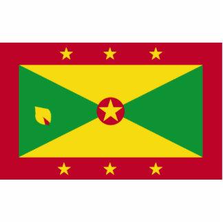 Pin con la bandera de Grenada Esculturas Fotográficas