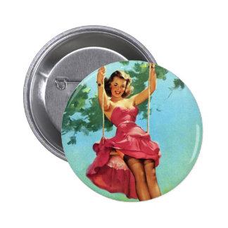 Pin de balanceo para arriba chapa redonda de 5 cm