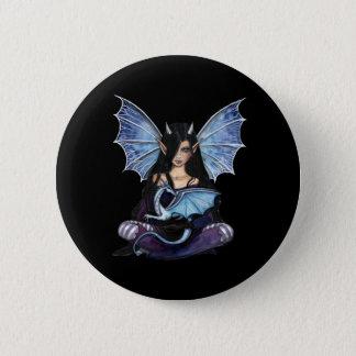 Pin de hadas gótico del dragón, botón por Molly