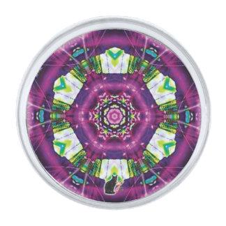 Pin de la solapa del caleidoscopio de Violette Pins Plateados